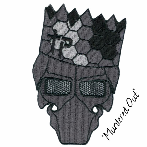 """Paper Hat Garry Patch - """"Murdered Out"""""""