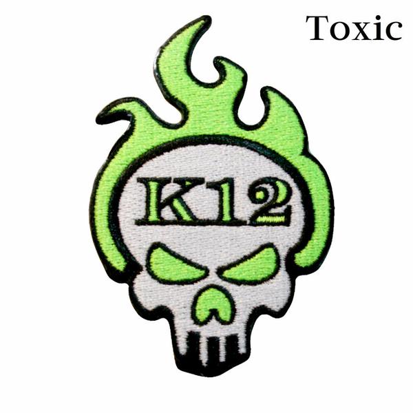 K12 Logo Patch - Toxic