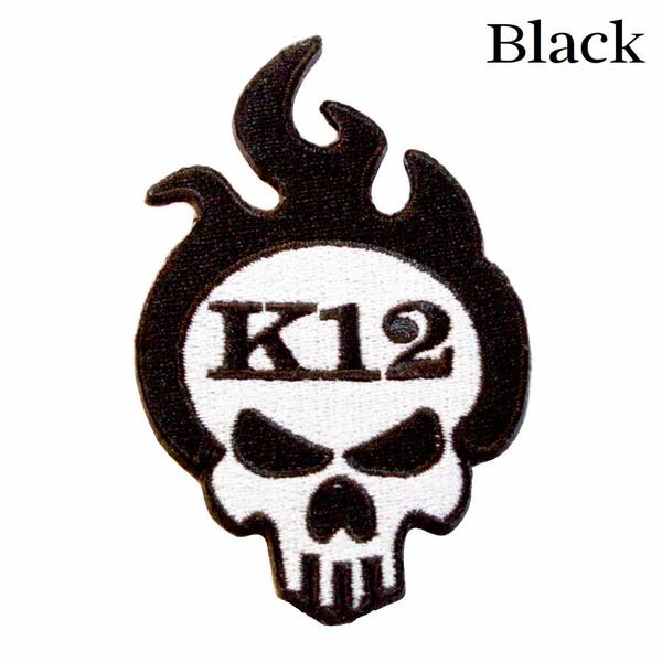 K12 Logo Patch - Black