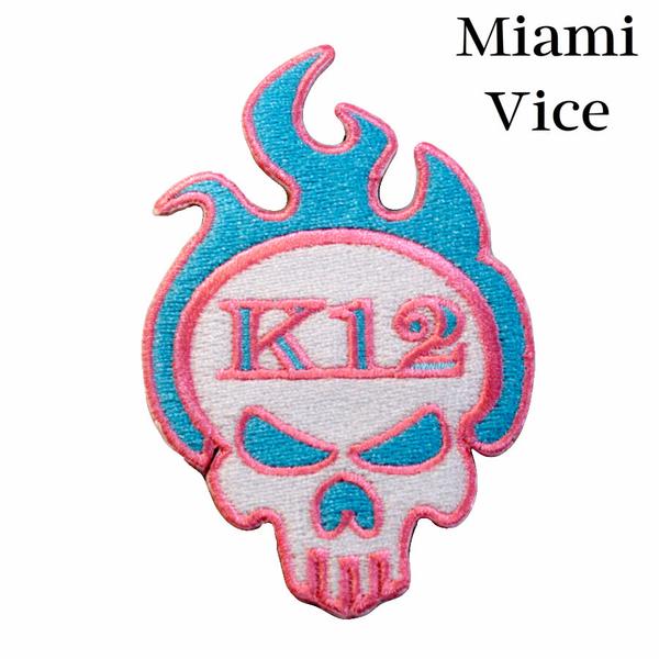 K12 Logo Patch - Miami Vice