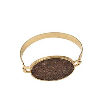 Hazel8 Gunmetal Skinny Bracelet