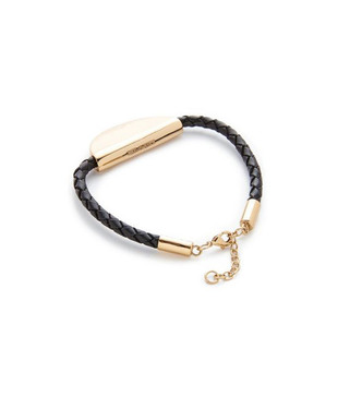 Elizabeth and James Boca Bracelet in Black and Gold
