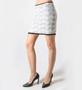 Calvin Rucker Heart of Glass Lace Mini Skirt