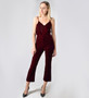 Derek Lam 10 Crosby Cami With Braided Straps in Bordeaux