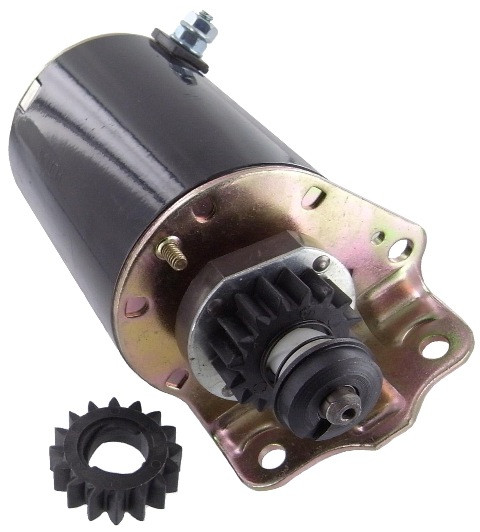 Riding Lawn Mower Alternator : Cub cadet with briggs stratton hp riding mower starter