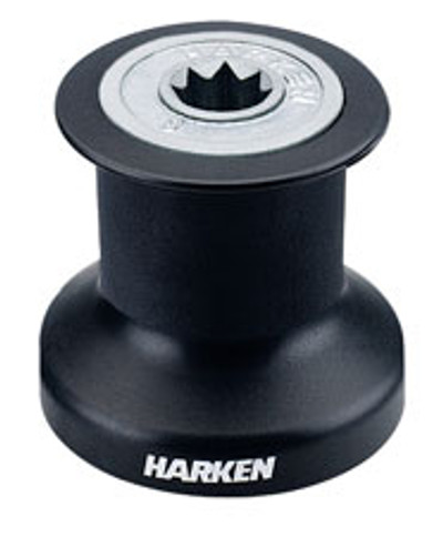 Harken Single Speed Winch with Alum/Composite  Base, Drum & Top