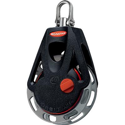 Ronstan Series 40 RTA/RTM OrbitBlock™, Auto/Manual, Single, Swivel Head