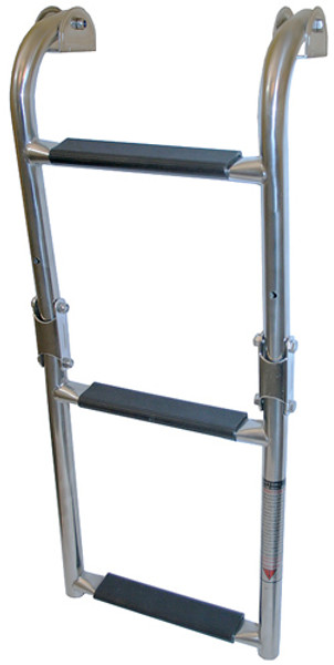 RWB Stainless Boarding Ladders Folding 3 Step/4Step