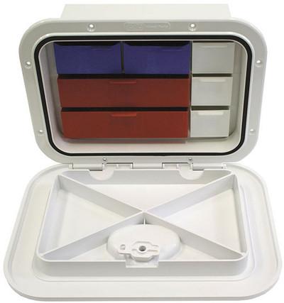 RWB Deluxe Tackle Box & Hatch