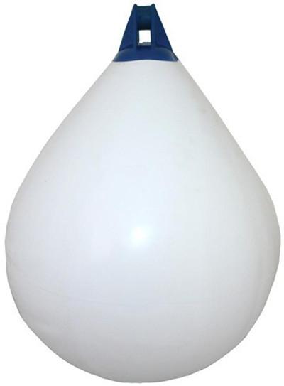 RWB Inflatable Teardrop Fenders - White/Blue