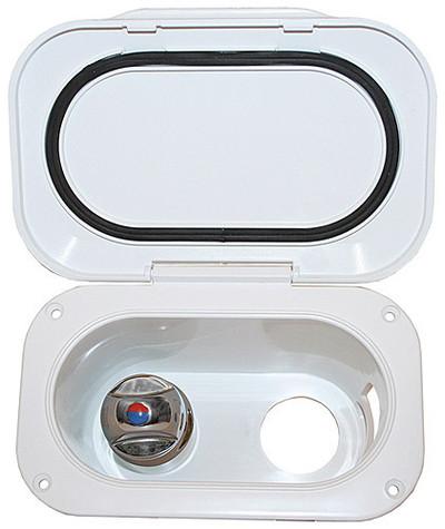 RWB Transom Shower Set - Compact