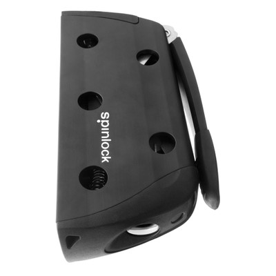 Spinlock XXB Powerclutch, Side Mount Port, Black/Silver