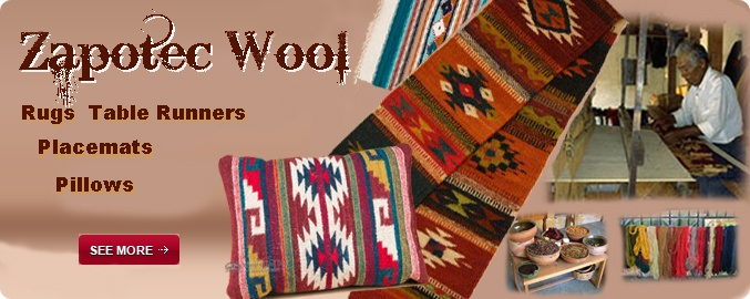 Zapotec Rugs & Table Runners