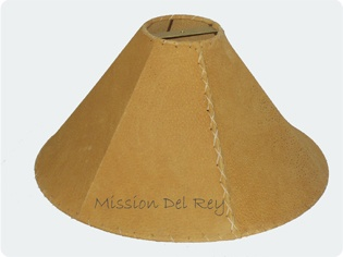 Leather Lamp Shades