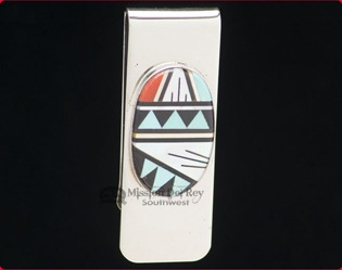Native American Money Clip