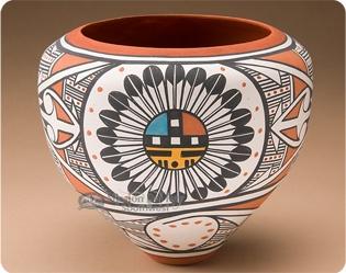 Pueblo Pottery - Native American Indian Pueblo Pottery