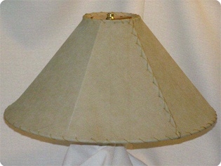 natural leather lamp shades
