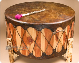native american pow wow drums