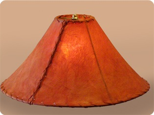Rawhide lamp shades red rawhide lamp shades mozeypictures Image collections