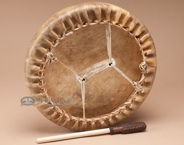how to make a native american drum