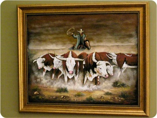 western-cowboy-indian-art-paintings