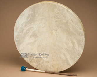 "20"" single sided drum made with genuine rawhide."