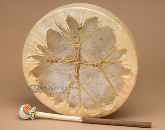20 Quot Shaman Drum Single Sided Native Hand Drum Mission