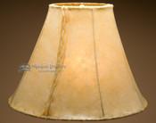 "Southwestern rawhide bell lamp shade.  20"""
