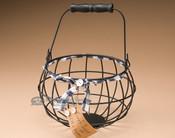 Metal Egg Gathering Basket