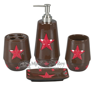 Western style 4 piece bathroom set.