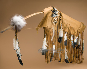 Native American Bow Case - Saddle