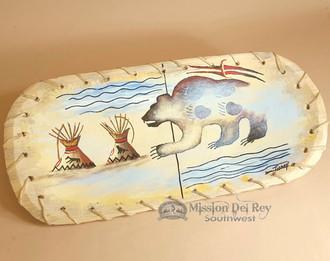 Painted Laced Bwol - Spirit Bear