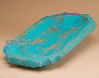 Turquoise Carved Bowl