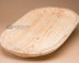 Hand carved wooden Tarahumara Indian dough bowl platter.