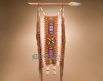 """Native American Wall Hangings native american breast plate wall hanging 24"""" (bp14) - mission del"""