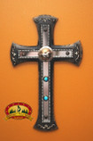 """Southwest Style Wall Cross 12.5"""" -CLEARANCE (13)"""