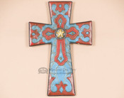 Rustic Western Wall Cross
