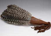 "Lakota Indian Bird Wing Fan 19"""