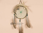 Antler Dreamcatcher Wall Art - Green