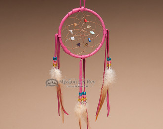 Native American Dream Catcher - Pink