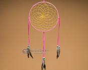 """10"""" Shoshone Dreamcatcher - Pink"""