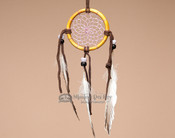 "Bone Dream Catcher 2.5"" - Lavender"