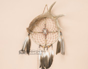 Genuine Antler with Dreamcatcher Medicine Wheel Combo