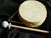 4 inch rawhide aro drum
