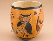 Decorative southwest gourd vase.