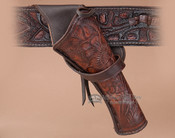 "Western Cross Draw Gun Holster 10"" -Right Handed (h4)"