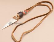 "Native American Indian Arrowhead Necklace 18"""