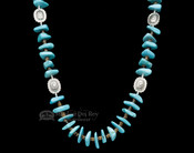 Navajo Indian Beaded Necklace 27.5""