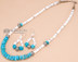 Native American Jewelry -Necklace & Earring Set 18.5""