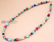 "Native American Navajo Jewelry -Necklace 25"""